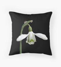Diamond Flower Throw Pillow