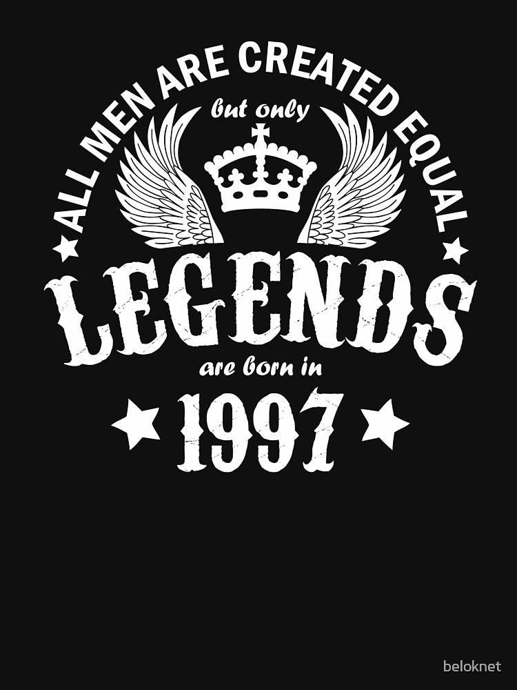 Legends are Born in 1997 by beloknet