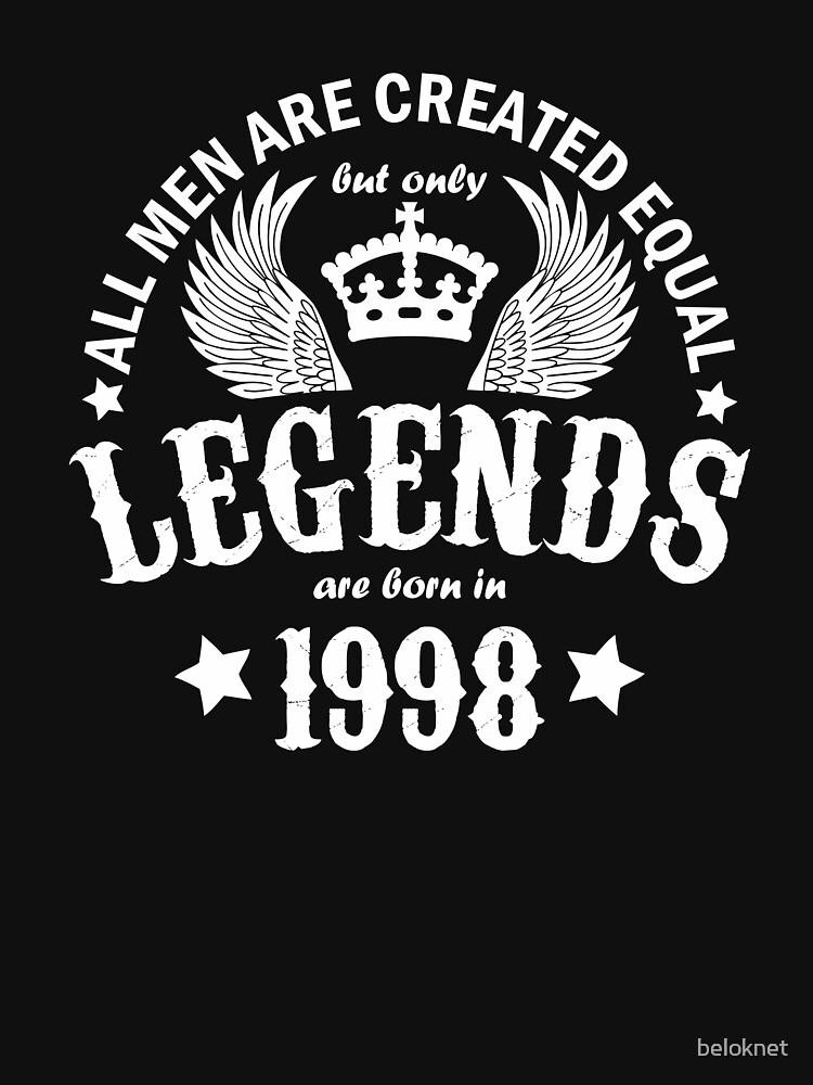 Las leyendas nacieron en 1998 de beloknet