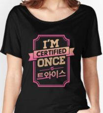 Certified ONCE - TWICE Women's Relaxed Fit T-Shirt