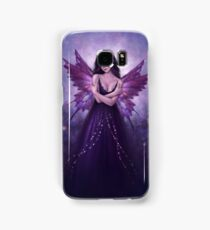 Mirabella Purple Butterfly Fairy Samsung Galaxy Case/Skin