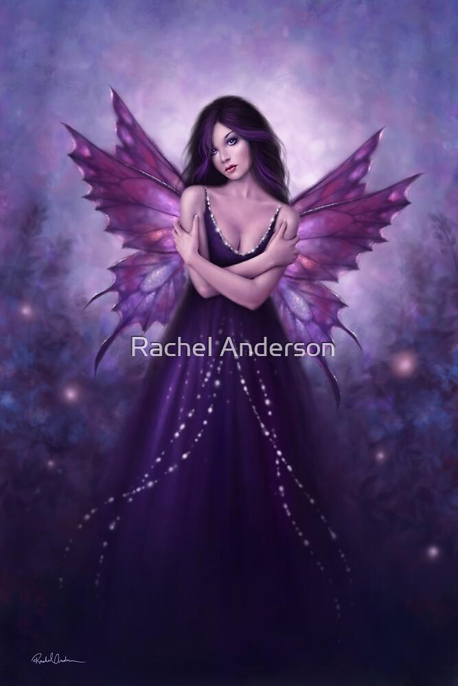 Mirabella Purple Butterfly Fairy by Rachel Anderson