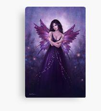 Mirabella Purple Butterfly Fairy Canvas Print