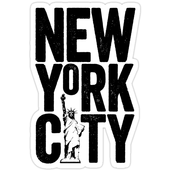 New york city stickers by theloveshop redbubble - Stickers geant new york ...