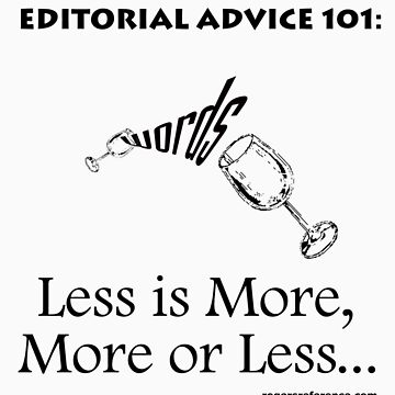 Editor's advice... by QuoteKing