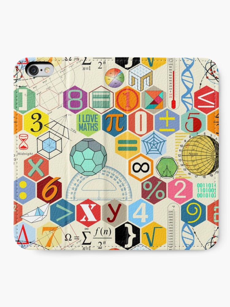 Alternate view of MATH! iPhone Wallet