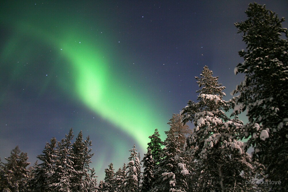 northern lights by chrisdade
