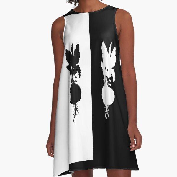 Radish A-Line Dress