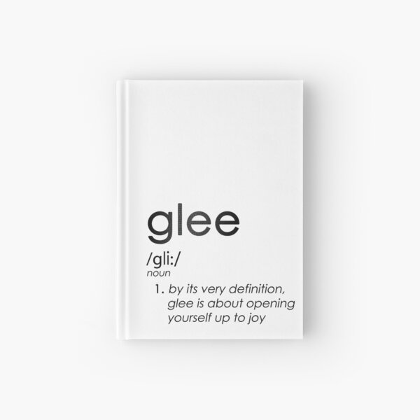Unapologetic Gleek Hardcover Journal