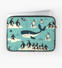 Whales, Penguins and other friends Laptop Sleeve
