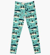Whales, Penguins and other friends Leggings