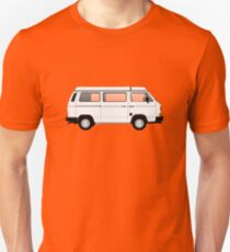 T25 VW camper white big bumper Unisex T-Shirt