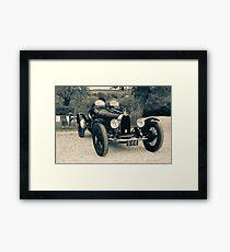 Classic Racer  Framed Print