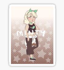 midnight mint mocha frappuccino  Sticker