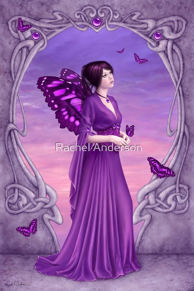 Amethyst Birthstone Fairy by Rachel Anderson