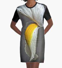 Flower (macro) Graphic T-Shirt Dress