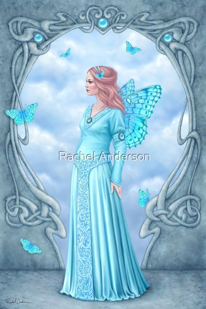 Aquamarine Birthstone Fairy by Rachel Anderson