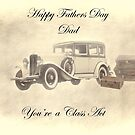 Fathers Day Card by Catherine Hamilton-Veal  ©