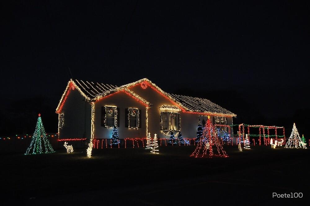 Christmas lights: Transiberian Style by Poete100
