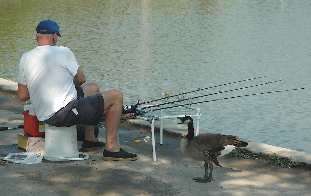 No fishing, can't you read ? by Jim Caldwell