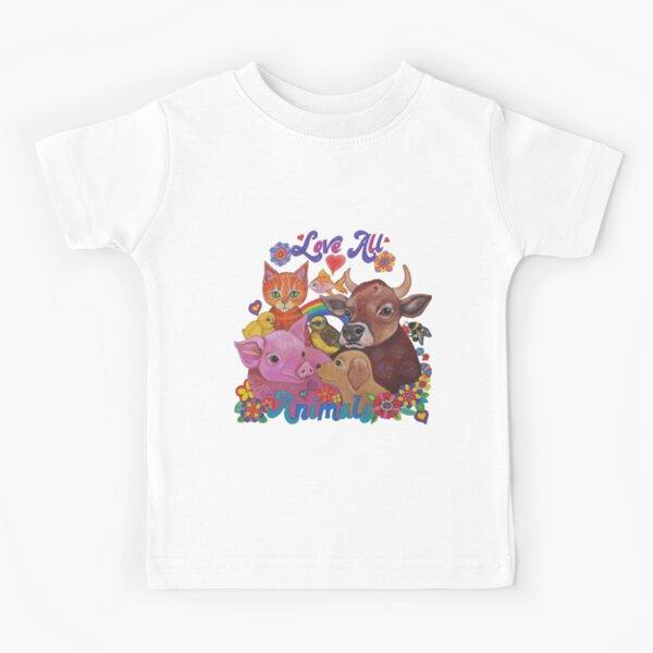 Love all Animals  Kids T-Shirt