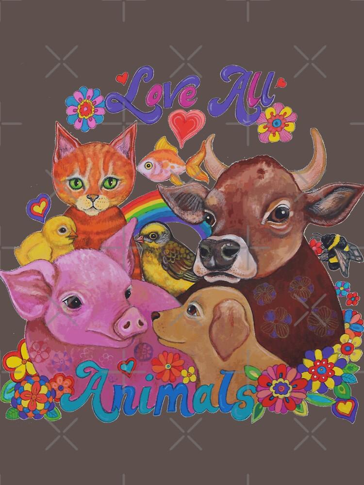 Amo a todos los animales de LyndaBell