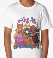 Love all Animals  Long T-Shirt