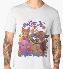Love all Animals  Men's Premium T-Shirt