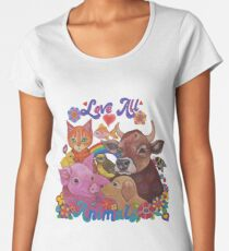 Love all Animals  Women's Premium T-Shirt