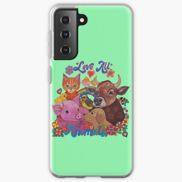 Love all Animals  Samsung Galaxy Soft Case