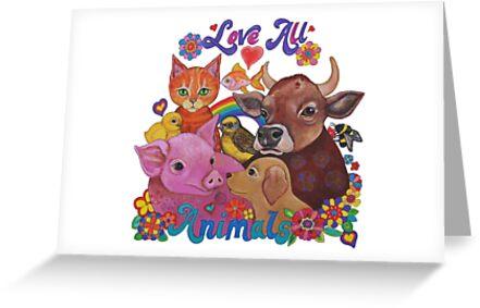 Liebe alle Tiere von Lynda Bell