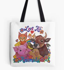 Love all Animals  Tote Bag