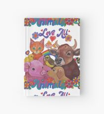 Love all Animals  Hardcover Journal
