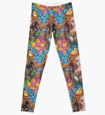 Cara the Feathered Godmother Leggings