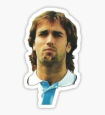Gabriel Batistuta Argentina Serie A Gol Goals Football Sticker