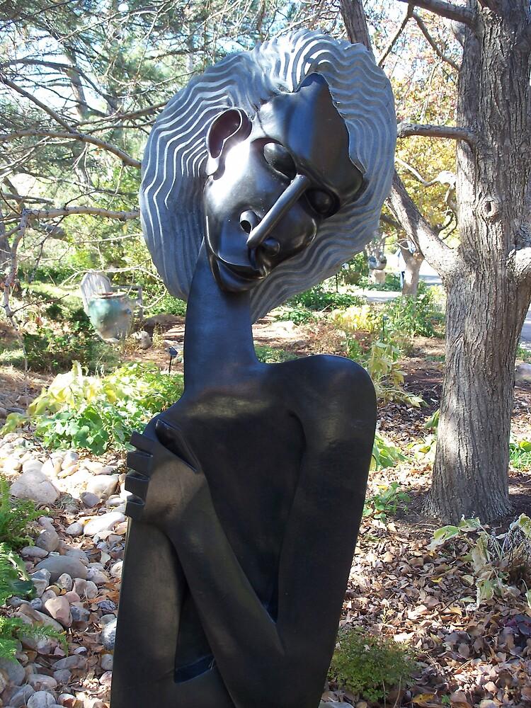 Modern African Sculpture by Nora Ward