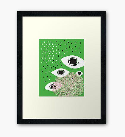 Eyes on you Framed Print
