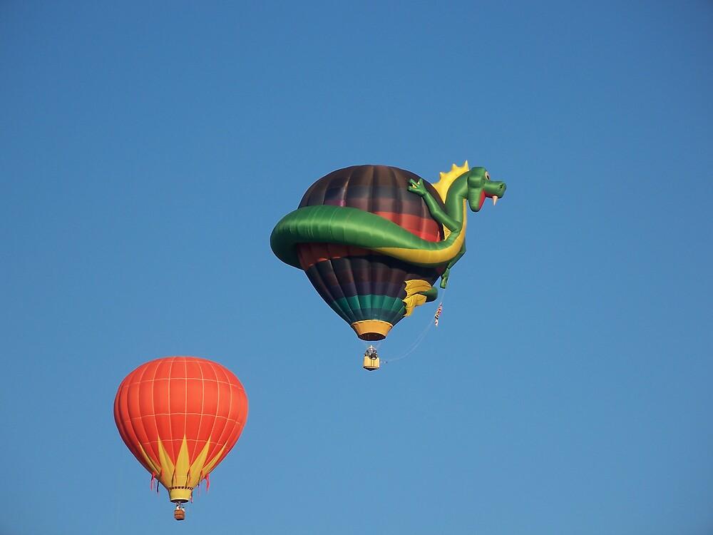Dragon Balloon by Nora Ward