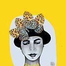Schmetterling Hut von PearTreePond