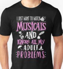 Love Musicals Unisex T-Shirt
