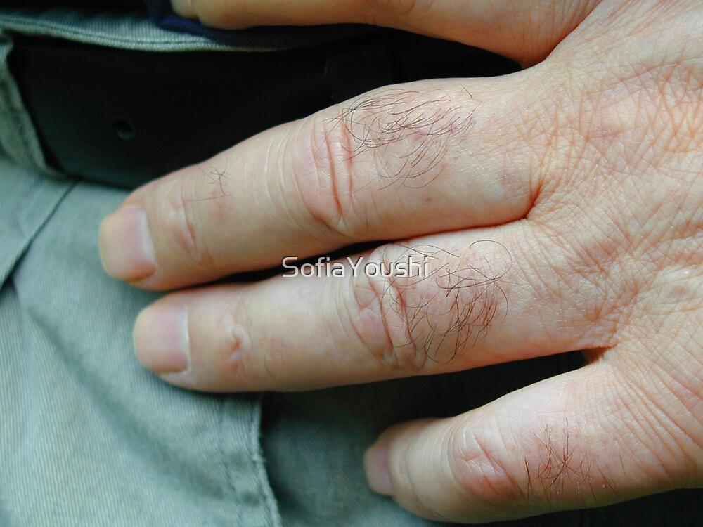 MAN HAND by SofiaYoushi