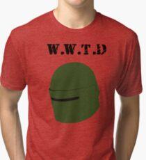What Would Tachanka Do? Tri-blend T-Shirt
