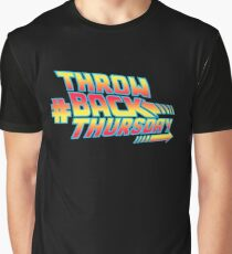 Throw Back Thursday Graphic T-Shirt