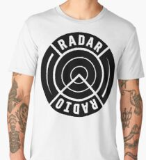 RADAR RADIO - BLACK Men's Premium T-Shirt