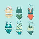 Badeanzüge von Jacqueline Hurd