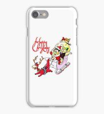 Flintstones Christmas, Hanna-Barbera iPhone Case/Skin