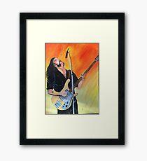 Lemmy - Motorhead Framed Print