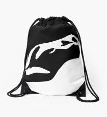 naked Drawstring Bag