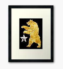 NCR Ranger Sequoia Bear Framed Print