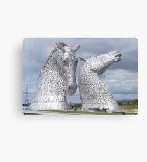 The Kelpies gifts , Helix Park, Scotland Canvas Print